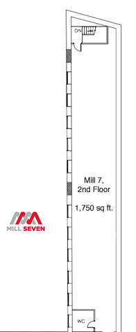 Mill 7 second floor
